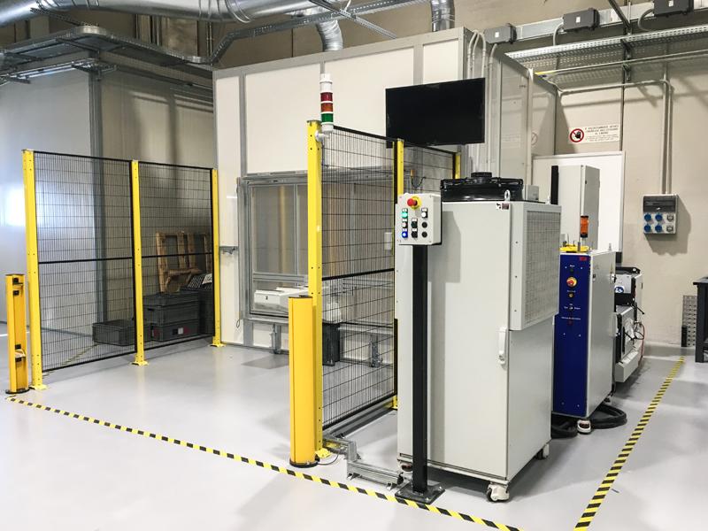 robot saldatura laser