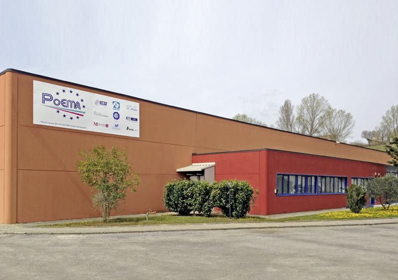 Lo stabilimento di PoEMA a Morra de Sanctis (Avellino)