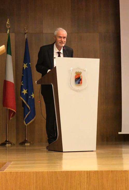 Il Presidente di Ecor International Sergio Lucietto.