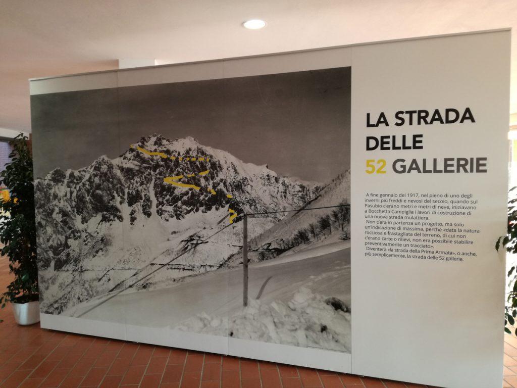 La mostra sulla Strada delle 52 Gallerie