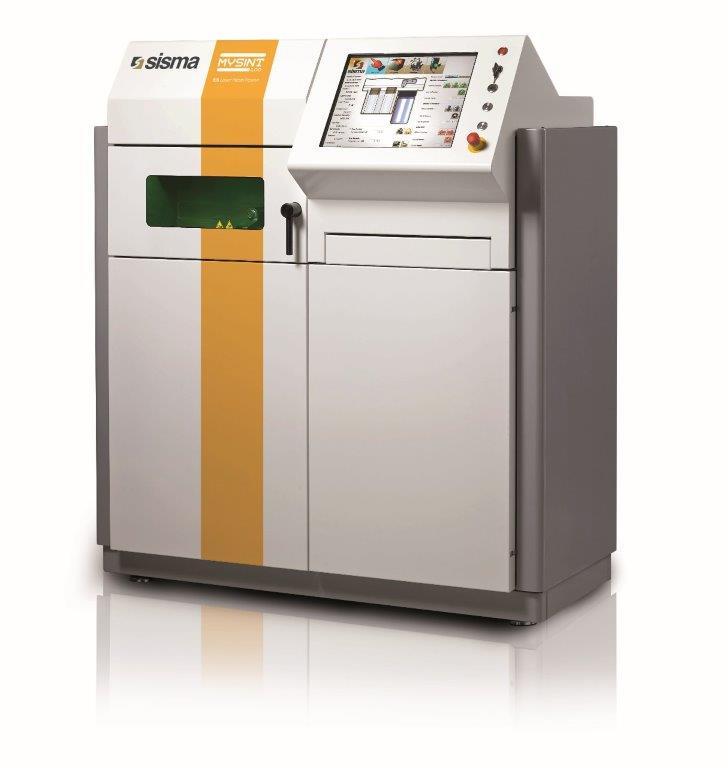 La stampante 3D per l'Additive Manufacturing utilizzata per la stampa dei provini.