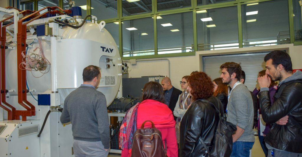 La visita in Ecor International durante il Galileo Festival