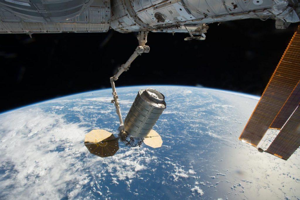 Il mezzo spaziale Cygnus: Ecor International è fornitore italiano per lo Spazio.